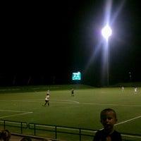 Photo taken at Corbett Soccer Stadium by Melissa E. on 8/18/2012