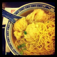 Photo taken at Tsim Chai Kee Noodle by Jaryl G. on 6/10/2012
