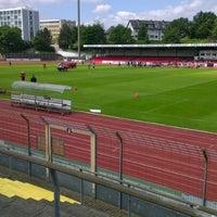 Photo taken at Südstadion by Bettina J. on 5/13/2012
