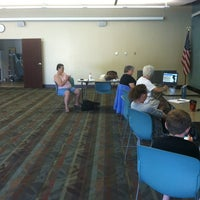 Photo taken at Franklin Avenue Library by Andrea J. on 6/30/2012