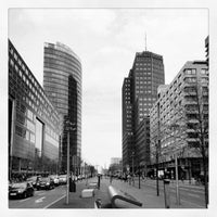 Photo taken at Potsdamer Platz by Marco H. on 4/18/2012