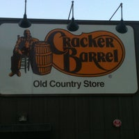 Photo taken at Cracker Barrel Old Country Store by Chris W. on 3/24/2012