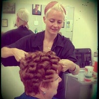 Photo taken at Barber Styling Institute by Heather W. on 9/12/2012