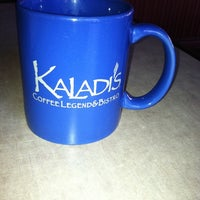 Photo taken at Kaladi's Coffee Legend & Bistro by Dee D. on 4/14/2012