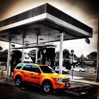 Photo taken at Mobil by Orlando S. on 8/22/2012