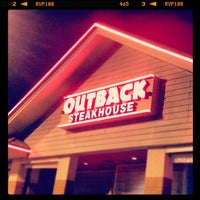 Photo taken at Outback Steakhouse by Jorge S. on 8/31/2012