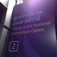 Photo taken at MRT Queen Sirikit National Convention Centre (SIR) by กฤษฎา ว. on 5/18/2012