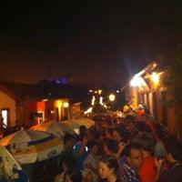 Photo taken at Rua do Lazer by Pedro Henrique R. on 3/24/2012