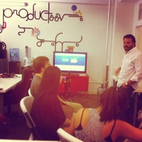 Photo taken at Producteev HQ by Matt V. on 5/18/2012
