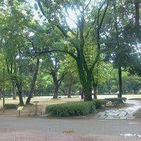 Photo taken at The Fourth High School Memorial Park by Ikehan3 on 8/29/2012