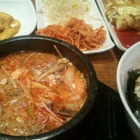 Photo taken at 맛있는 순두부 (시청점) by Kevin (Sang Ho) Y. on 2/6/2012