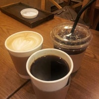 Photo taken at Roastery Beans Cafe by you kyung L. on 9/11/2012