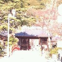 Photo taken at 上野山 福祥寺(須磨寺) by 虎太郎 &. on 2/11/2012