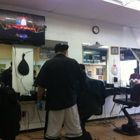 Photo taken at Mob Spot Barbershop by Taurean F. on 2/22/2012