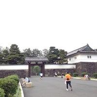 Photo taken at Sakuradamon Gate by mon n. on 6/24/2012