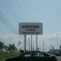 Photo taken at Discount Tire® Store by Marla C. on 5/26/2012