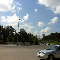 Photo taken at Остановка «Контрольная» by Ilya M. on 6/19/2012