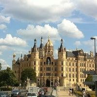 Photo taken at Schweriner Schloss by Dominique F. on 8/23/2012
