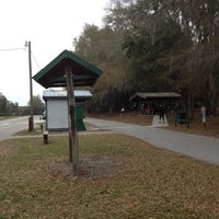 Photo taken at Withlacoochee River Park by michael on 2/9/2012