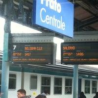 Photo taken at Stazione Prato Centrale by Mirka C. on 4/6/2012