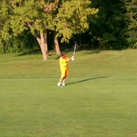 Photo taken at Crystal Lake Golf Course by Chris K. on 8/19/2012