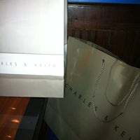Photo taken at Charles & Keith by Ferdz T. on 7/5/2012