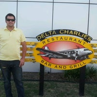 Photo taken at Delta Charlie's Bar & Grill by Samone H. on 5/5/2012