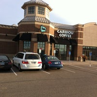 Photo taken at Caribou Coffee by Peggy H. on 3/15/2012