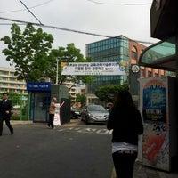 Photo taken at 정의여자중학교 by soojung c. on 5/27/2012