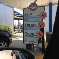 Photo taken at Tommy Terrific's Carwash by Amy K. on 5/18/2012