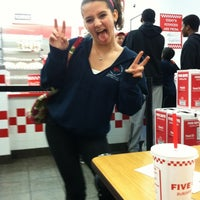 Photo taken at Five Guys by Ashley P. on 2/21/2012