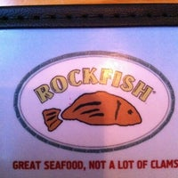 Photo taken at Rockfish Seafood Grill by Elaine P. on 2/18/2012
