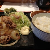 Photo taken at おでん まめひろ by Takehiro I. on 3/23/2012