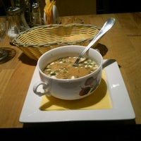 Photo taken at Тарелочка чечевичного супа и один маленький, но очень хитрый сухарик by Serge S. on 7/17/2012