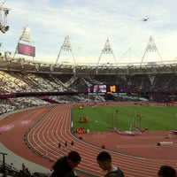 Photo taken at London Stadium by Daniel S. on 9/6/2012