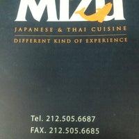 Photo taken at Mizu Japanese & Thai Cuisine by Mizu R. on 5/24/2012