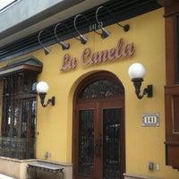 Photo taken at La Canela by Jose V. on 3/30/2012