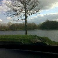 """Photo taken at """"De Singel"""" (Rivier De Merwede) by Ilona V. on 4/16/2012"""