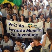 Photo taken at Colégio Nossa Senhora do Rosário by Jefferson M. on 9/12/2012