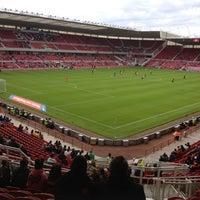 Photo taken at Riverside Stadium by Martyn W. on 7/20/2012