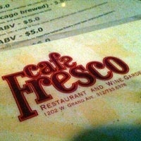 Photo taken at Cafe Fresco by Colleen D. on 8/15/2012