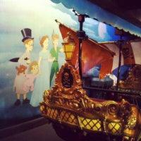 Photo taken at Peter Pan's Flight by Ashley D. on 8/19/2012