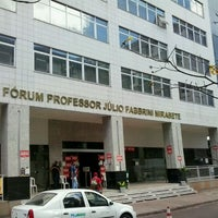 Photo taken at Fórum Prof. Júlio Fabbrini Mirabete - TJDFT by Benedito Germano N. on 8/13/2012