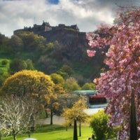 Photo taken at West Princes Street Gardens by June Louise on 4/28/2012