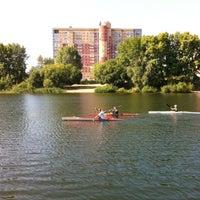 Photo taken at Мещерское озеро by Илья Г. on 8/6/2012