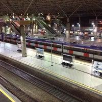 Photo taken at Estação Brás (CPTM) by Clayton F. on 7/10/2012