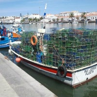 Photo taken at Cais de Tavira by António G. on 8/29/2012