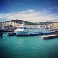 Photo taken at Port of Dover by Chris T. on 8/17/2012
