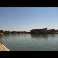 Photo taken at Quai Saint Pierre by Oliv G. on 6/16/2012