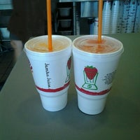 Photo taken at Jamba Juice Park Central by Hiilani A. on 7/29/2012